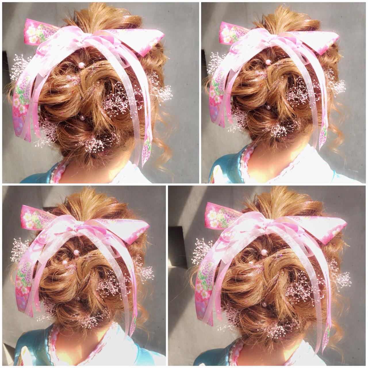 ハーフアップ ショート 簡単ヘアアレンジ ミディアム ヘアスタイルや髪型の写真・画像