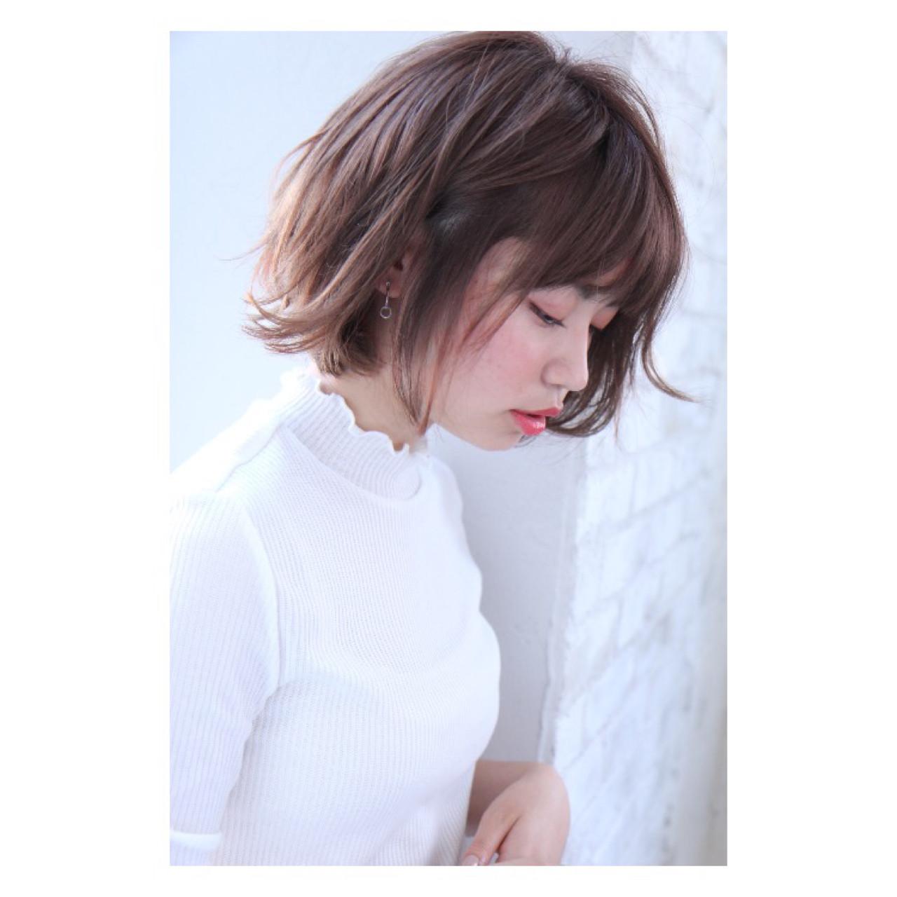 ウェーブ デジタルパーマ パーマ デート ヘアスタイルや髪型の写真・画像