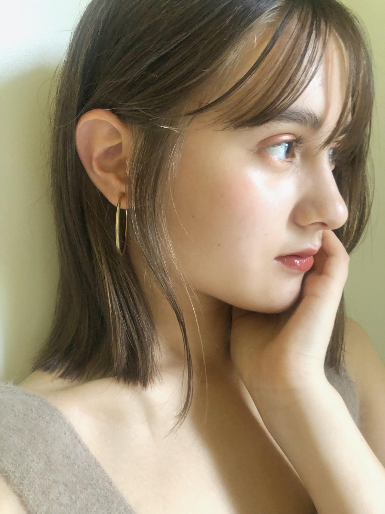 ガーリー オフィス 大人かわいい デート ヘアスタイルや髪型の写真・画像 | 中島 潮里 / whyte / whyte