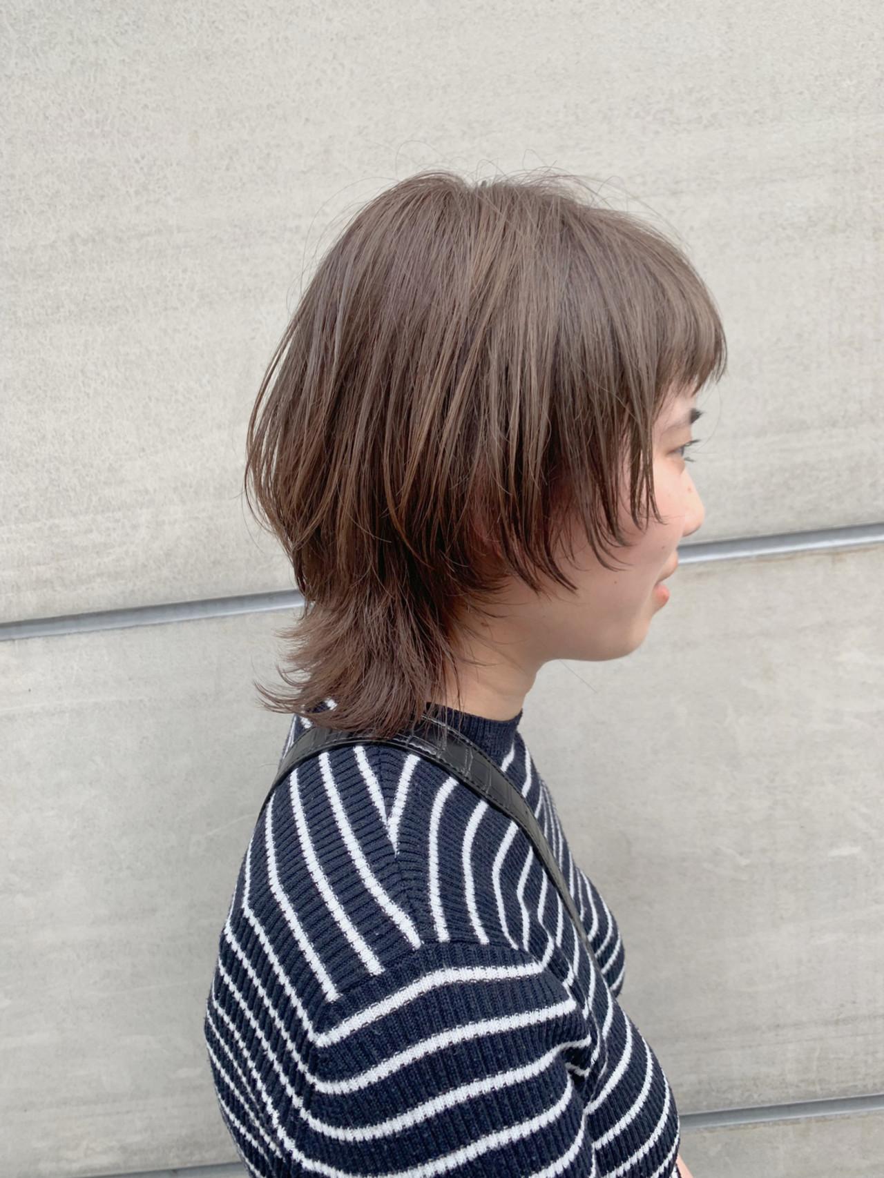 ウルフカット ナチュラル 透明感 ブリーチなし ヘアスタイルや髪型の写真・画像 | 園田 健太 / francoise marceau