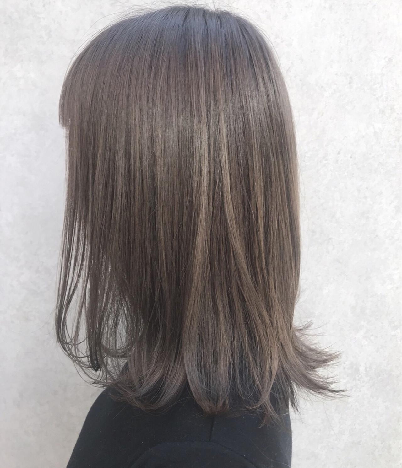 簡単ヘアアレンジ 前髪あり ミディアム 抜け感 ヘアスタイルや髪型の写真・画像