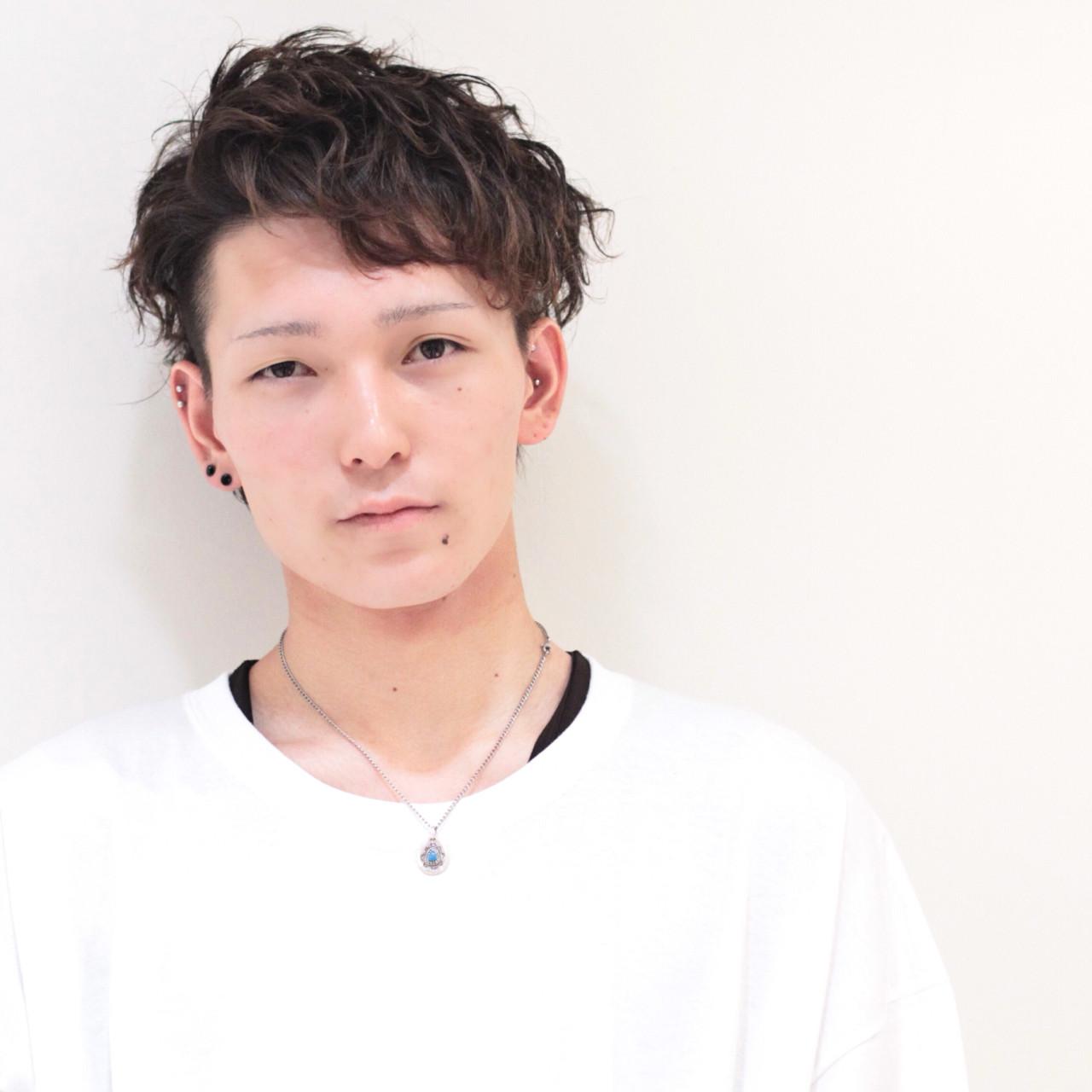 ショート メンズ アウトドア スポーツ ヘアスタイルや髪型の写真・画像 | 髙木達智 / VOGA