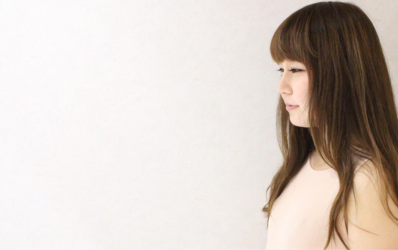 ロング グラデーションカラー 外国人風 ガーリー ヘアスタイルや髪型の写真・画像 | 伊藤 貴昭 / CACINA  カシナ
