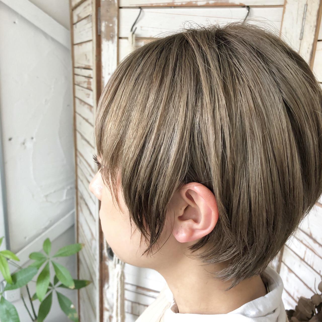 ガーリー アウトドア 透明感 外国人風カラー ヘアスタイルや髪型の写真・画像
