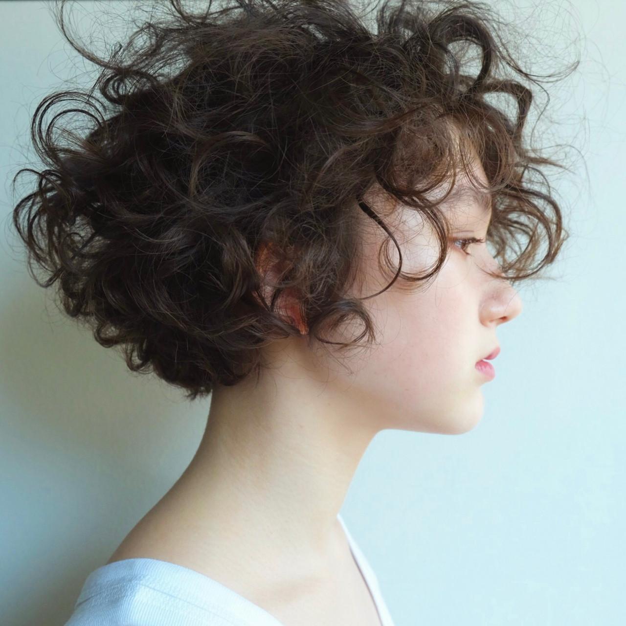 髪型 くせ毛