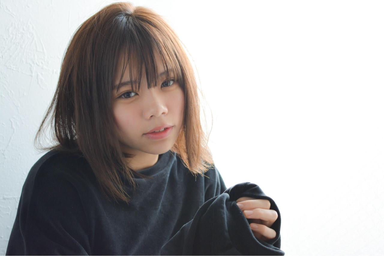 大人女子 色気 小顔 ニュアンス ヘアスタイルや髪型の写真・画像 | Takahiro Mizoguchi / Nine