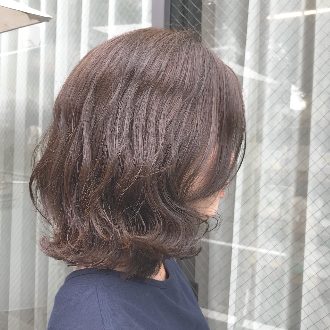 大人かわいい 切りっぱなし ボブ 外ハネ ヘアスタイルや髪型の写真・画像 | brisa 野田 沙織 / brisa ブリッサ