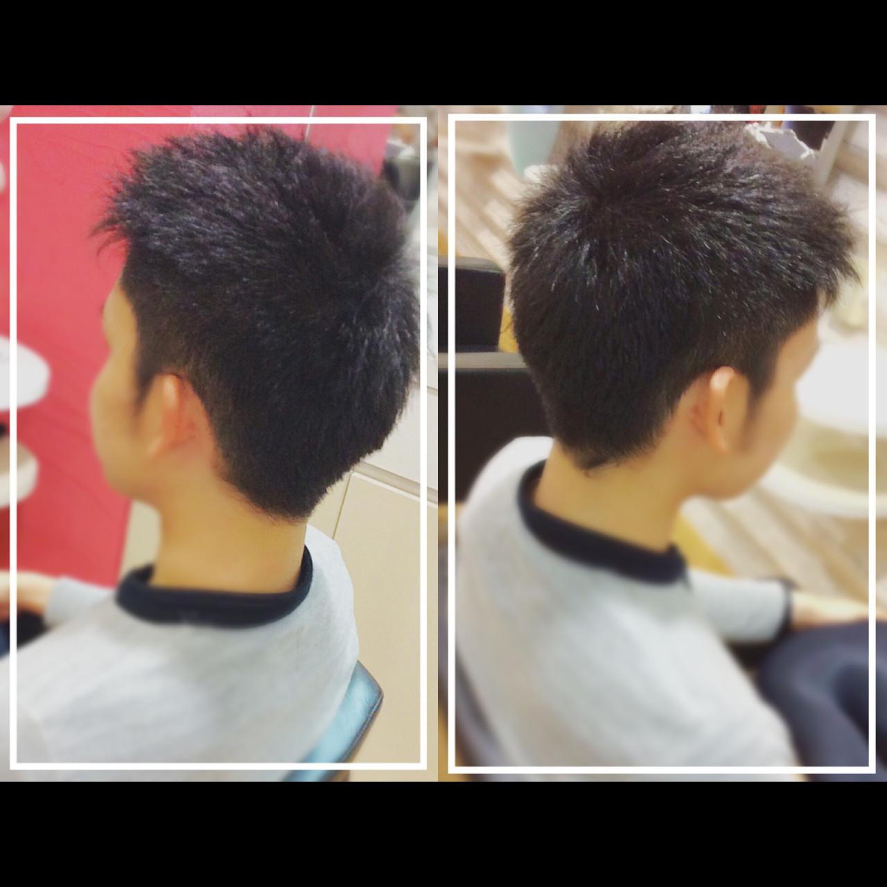 オフィス メンズヘア 黒髪 社会人の味方 ヘアスタイルや髪型の写真・画像
