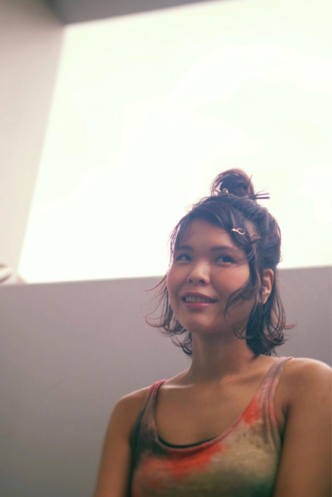 大人女子 ヘアアレンジ フェミニン 簡単ヘアアレンジ ヘアスタイルや髪型の写真・画像