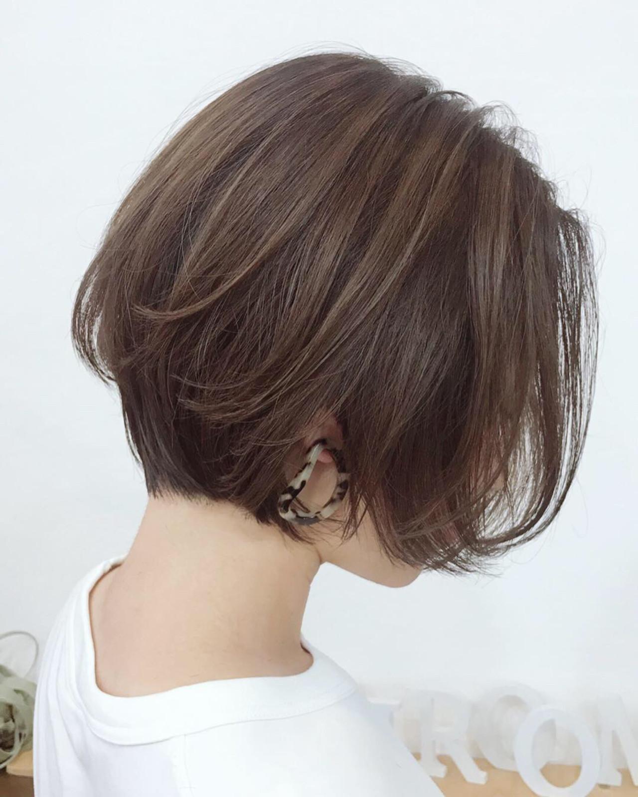 ショート エレガント 上品 ヘアスタイルや髪型の写真・画像 | Akane Ueda / Chillin Room