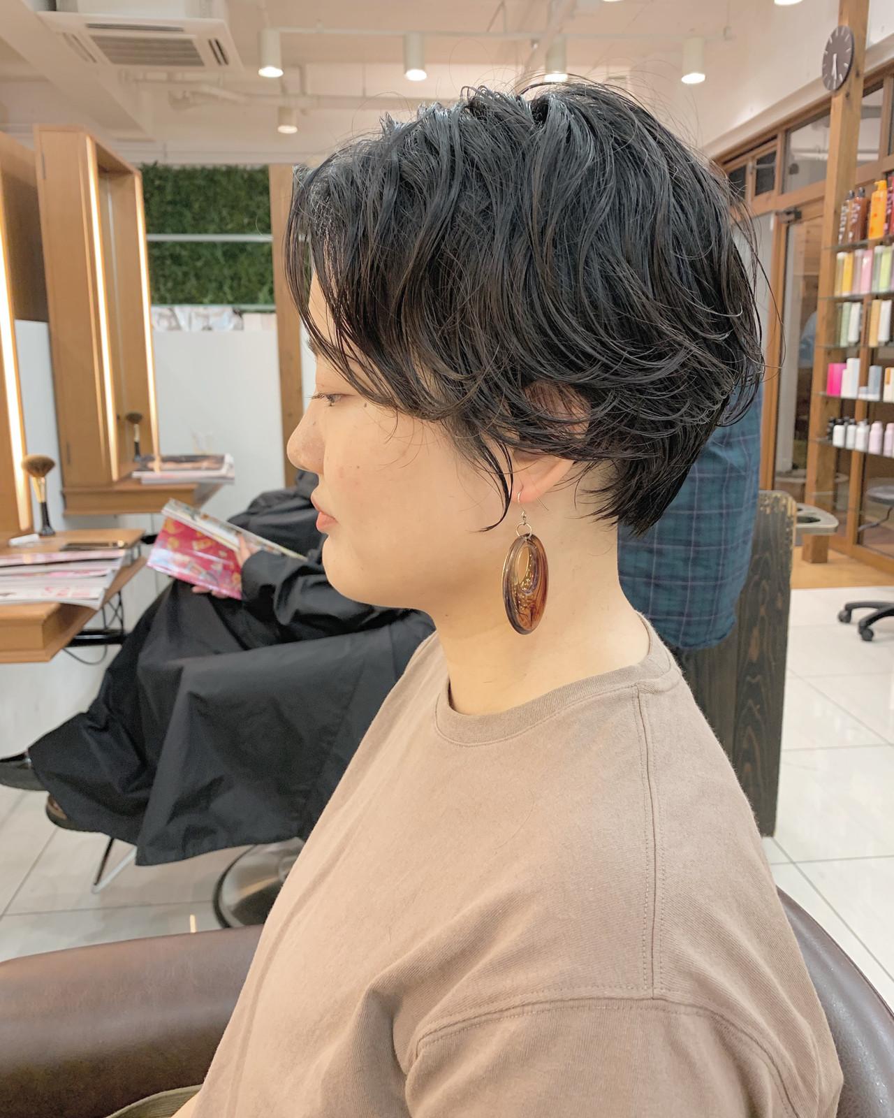 ナチュラル ふんわり ショートヘア 可愛い ヘアスタイルや髪型の写真・画像