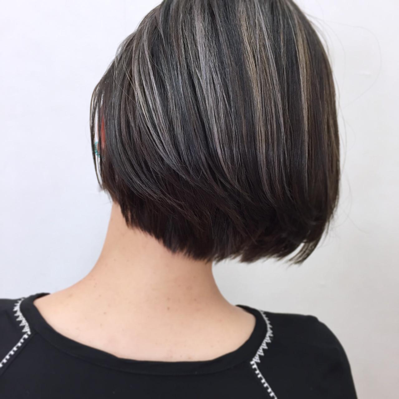ナチュラル グレージュ 外国人風 ウェットヘア ヘアスタイルや髪型の写真・画像