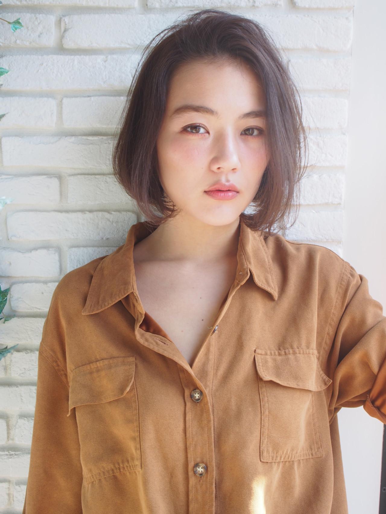 スモーキーカラー 大人女子 抜け感 コンサバ ヘアスタイルや髪型の写真・画像 | 一色 さおり / LOAVE AOYAMA(ローブ アオヤマ)
