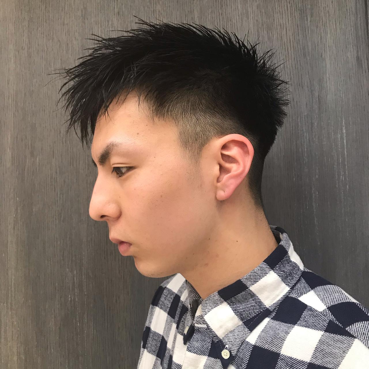 メンズカジュアル ショート ストリート メンズショート ヘアスタイルや髪型の写真・画像