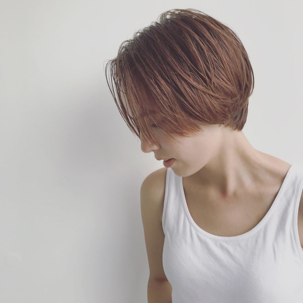 前髪あり ストリート 抜け感 ハイトーン ヘアスタイルや髪型の写真・画像