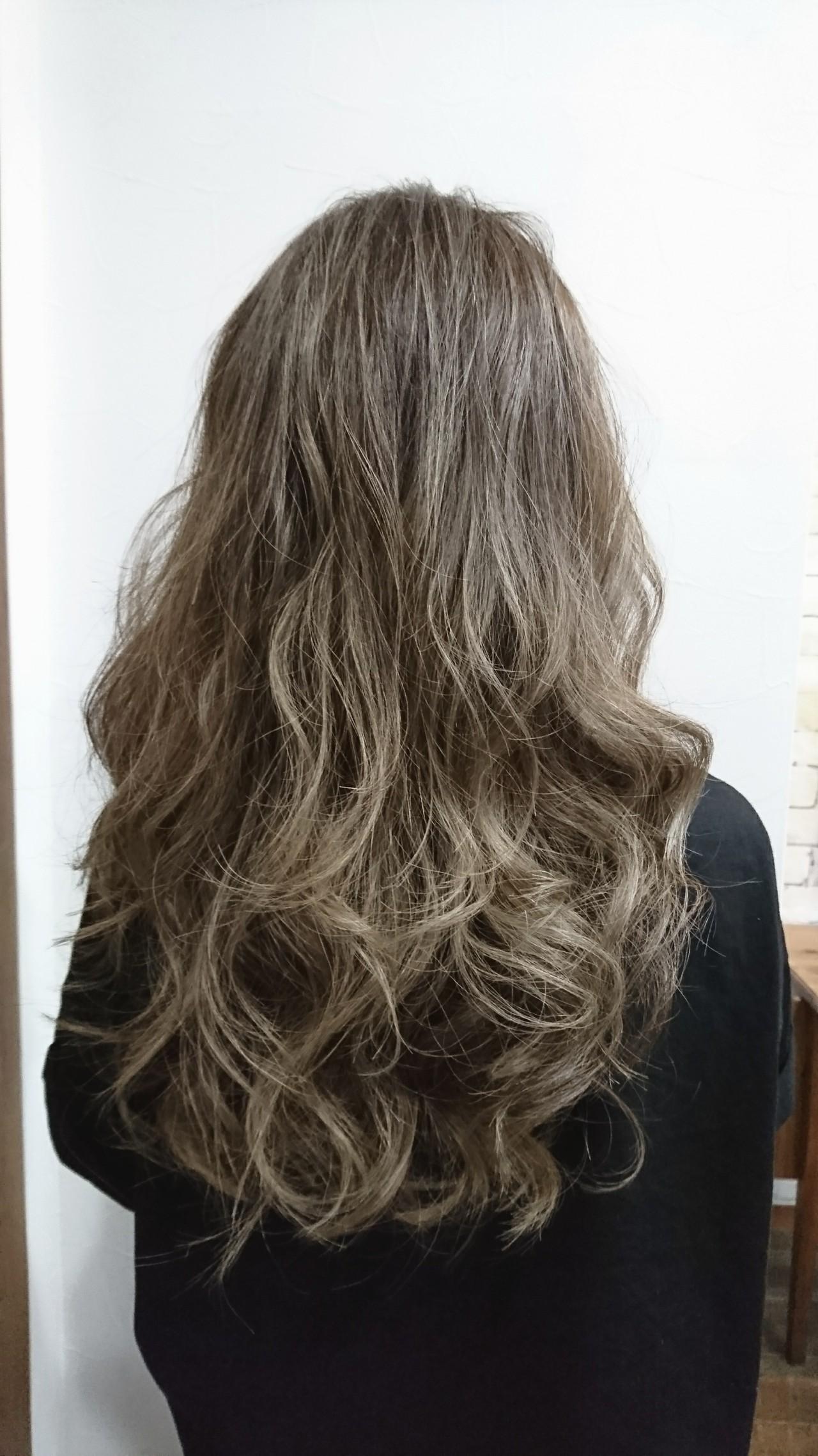 秋 女子力 ナチュラル ロング ヘアスタイルや髪型の写真・画像