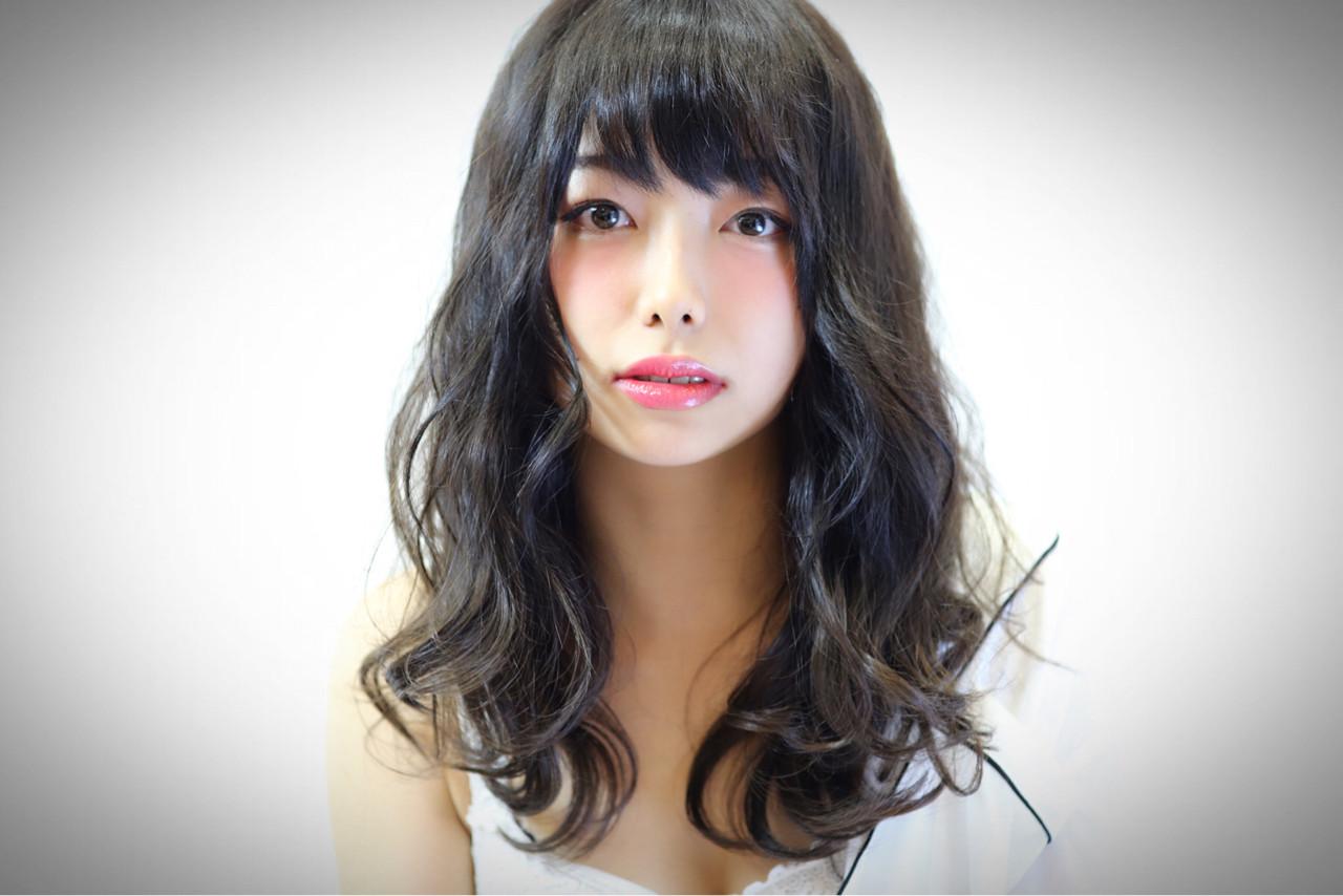 セミロング かわいい 上品 大人かわいい ヘアスタイルや髪型の写真・画像 | APHRODITE 銀座 猿山将広 / APHRODITE 銀座