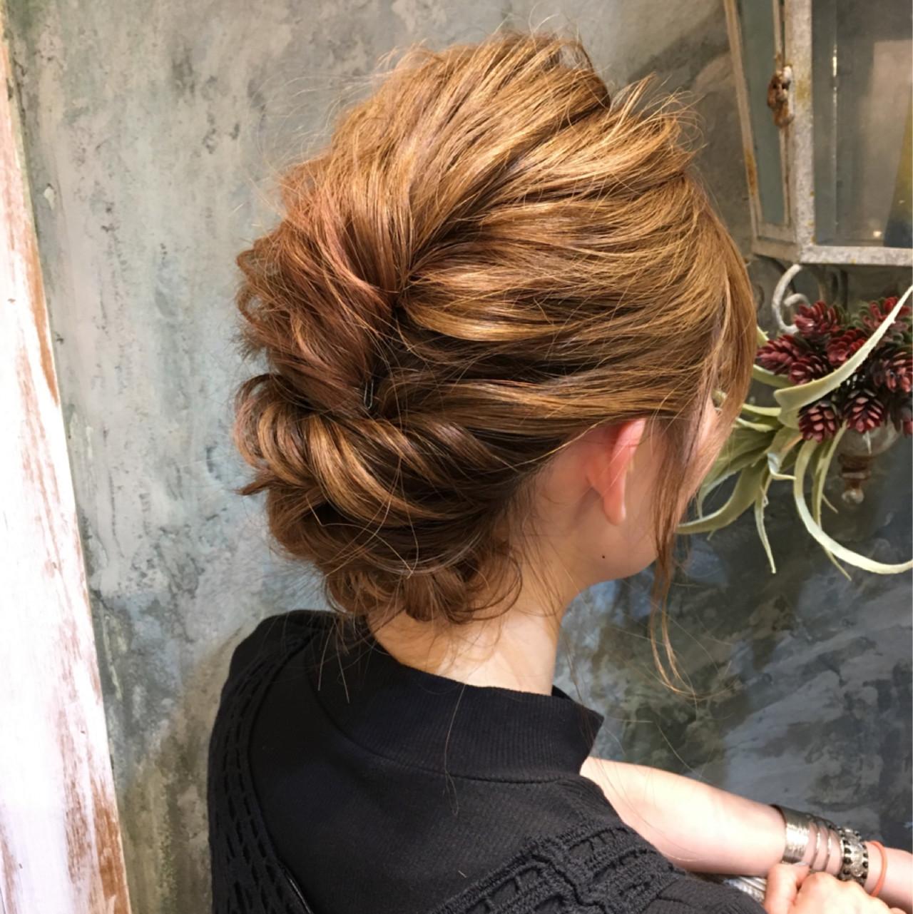 ショート パーマ 簡単ヘアアレンジ ヘアアレンジ ヘアスタイルや髪型の写真・画像