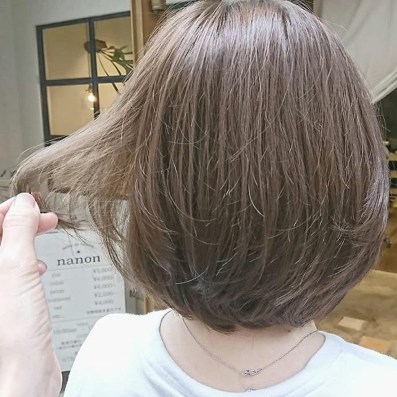 ナチュラル ゆるふわ 大人かわいい ショート ヘアスタイルや髪型の写真・画像   浦川由起江 / nanon