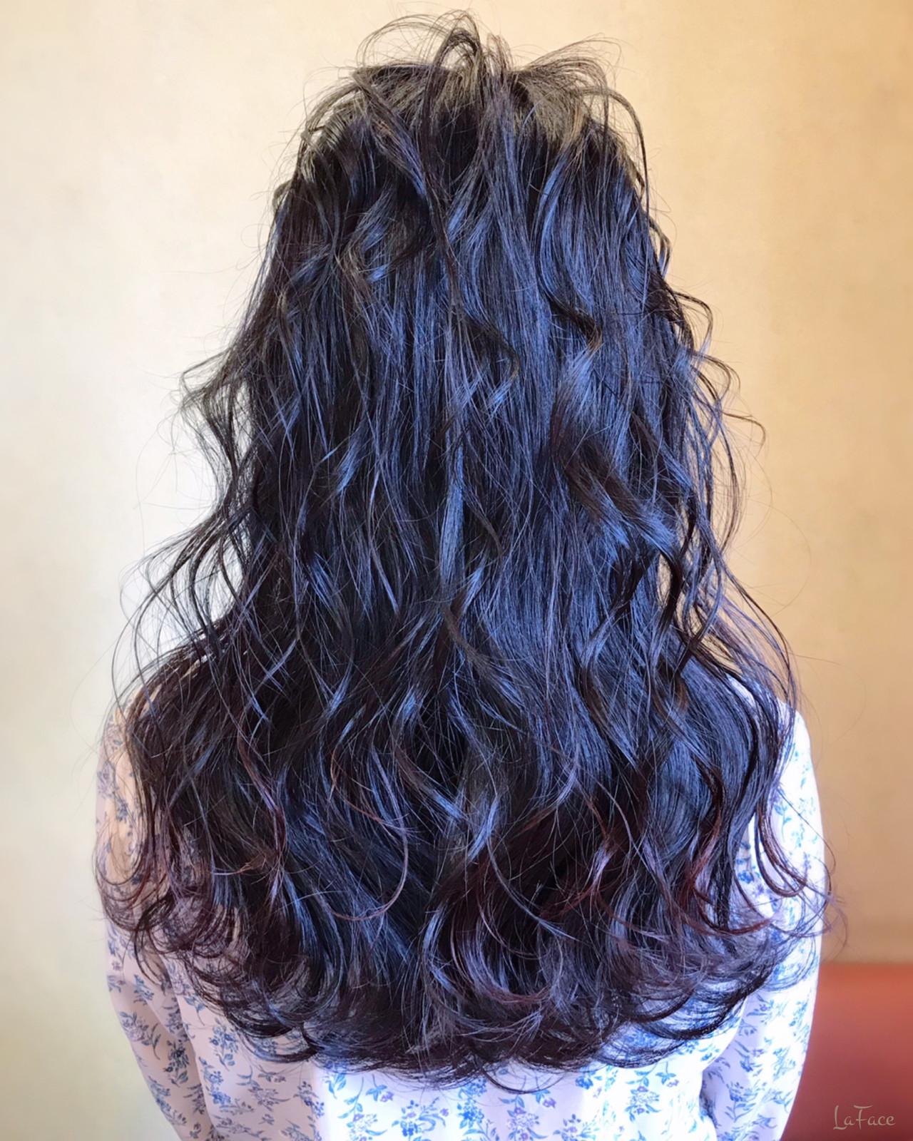 ロング ヘアアレンジ 大人女子 エレガント ヘアスタイルや髪型の写真・画像