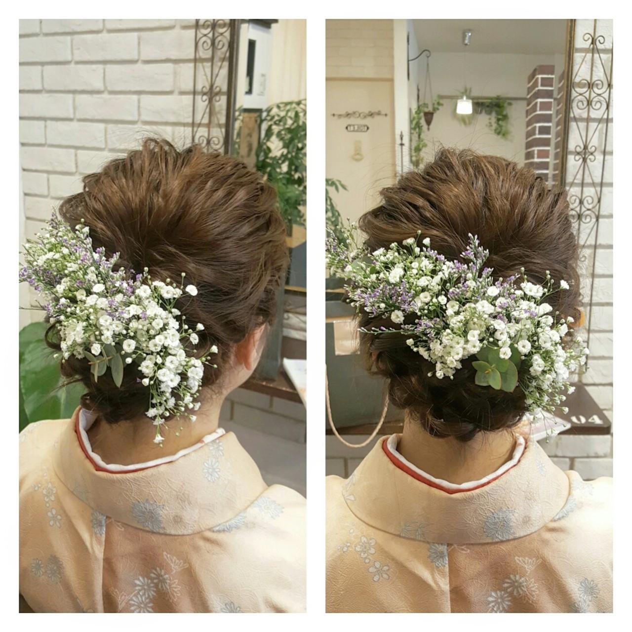ゆるふわ ナチュラル ハーフアップ ロング ヘアスタイルや髪型の写真・画像