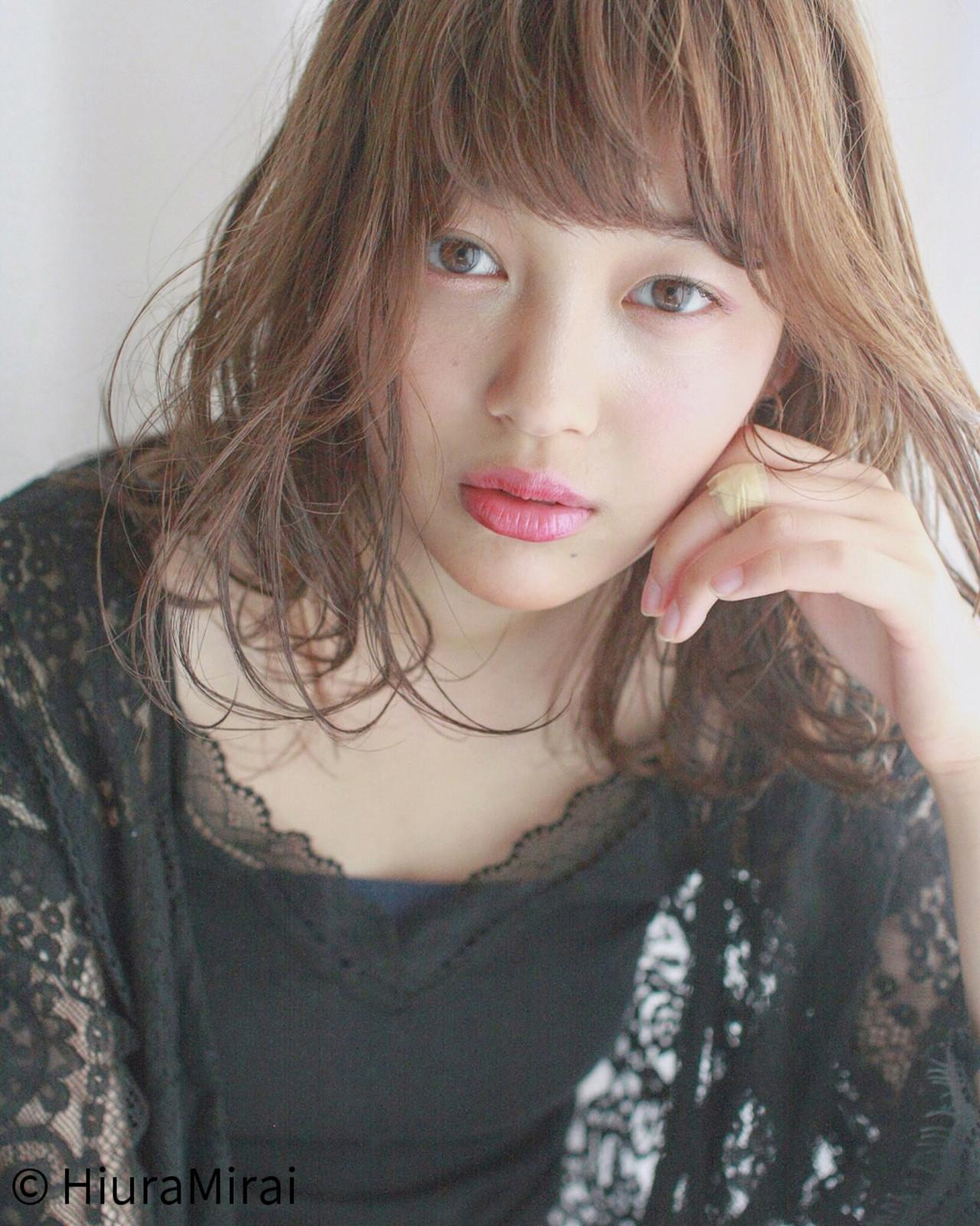 色気 涼しげ デート パーマ ヘアスタイルや髪型の写真・画像   Mirai / Lilou