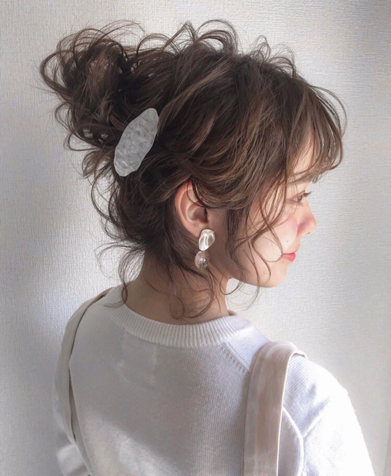 ナチュラル 結婚式 ショート 成人式 ヘアスタイルや髪型の写真・画像 | 三木 奨太 / hair set salon  IRIS