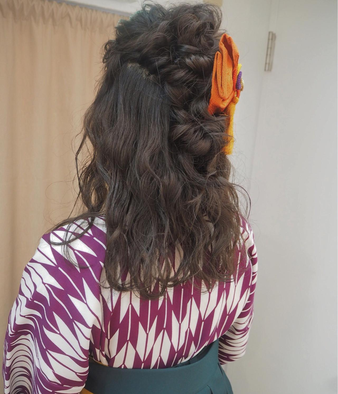 ショート ヘアアレンジ ナチュラル 簡単ヘアアレンジ ヘアスタイルや髪型の写真・画像 | 宮迫 真美 / airfeel