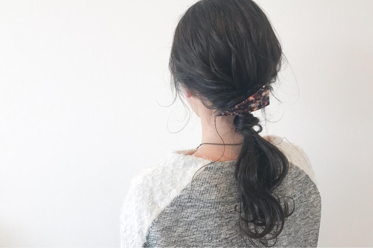 くるりんぱ ショート 大人女子 ロング ヘアスタイルや髪型の写真・画像 | 宇渡 裕一 / Lillie hair&spa