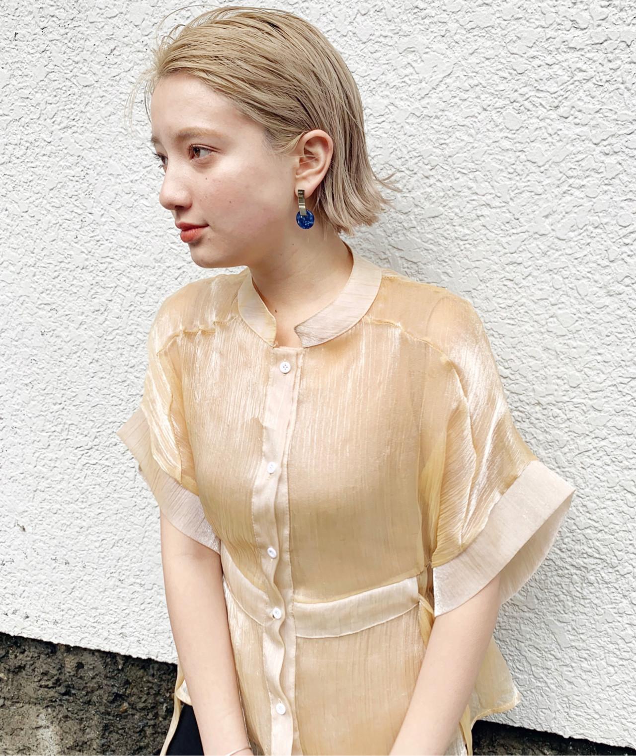 アウトドア ヘアアレンジ フェミニン スポーツ ヘアスタイルや髪型の写真・画像