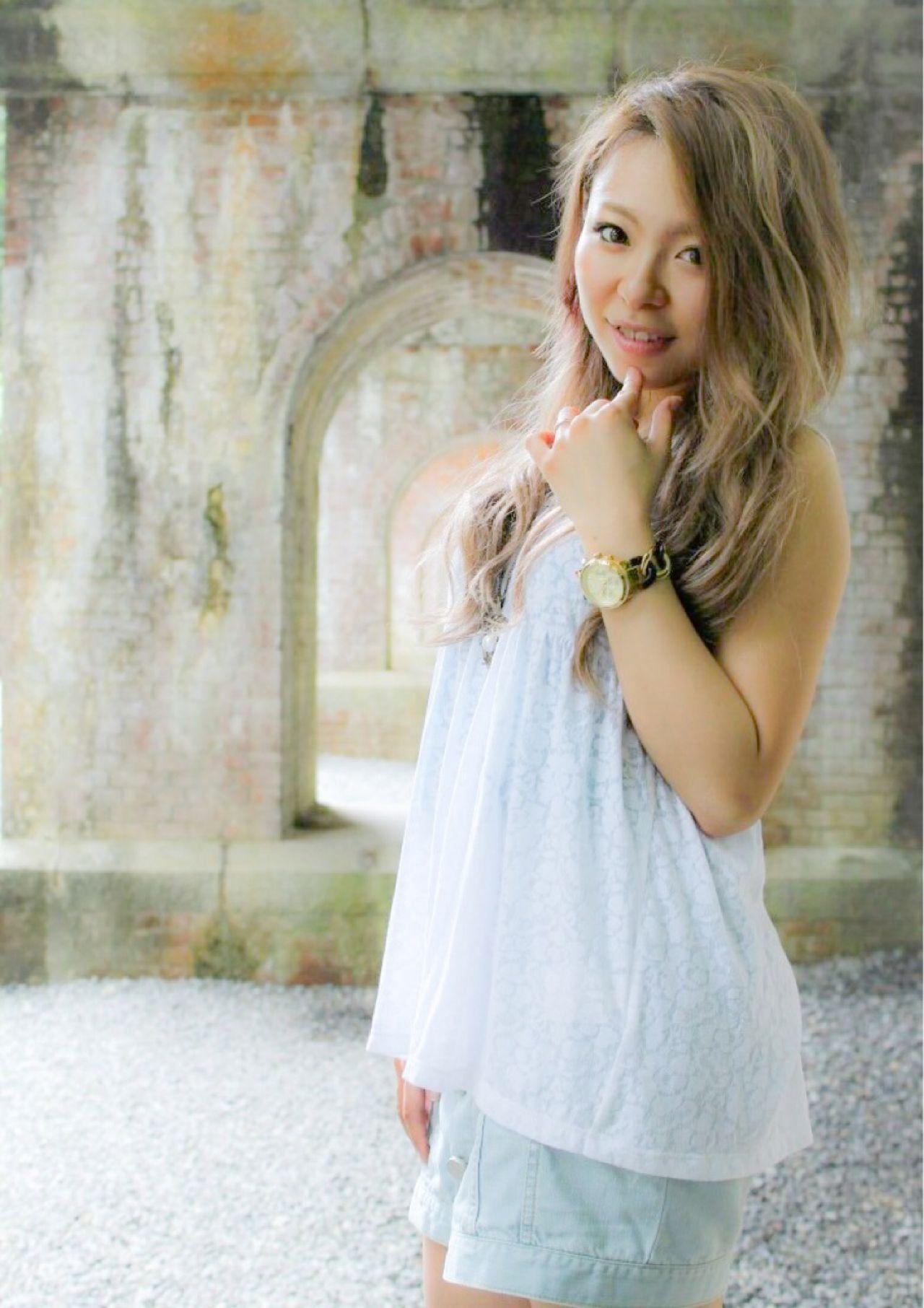 モテ髪 ロング 外国人風 ナチュラル ヘアスタイルや髪型の写真・画像 | 山本 佳裕 / HAIRsalon DELIGHT