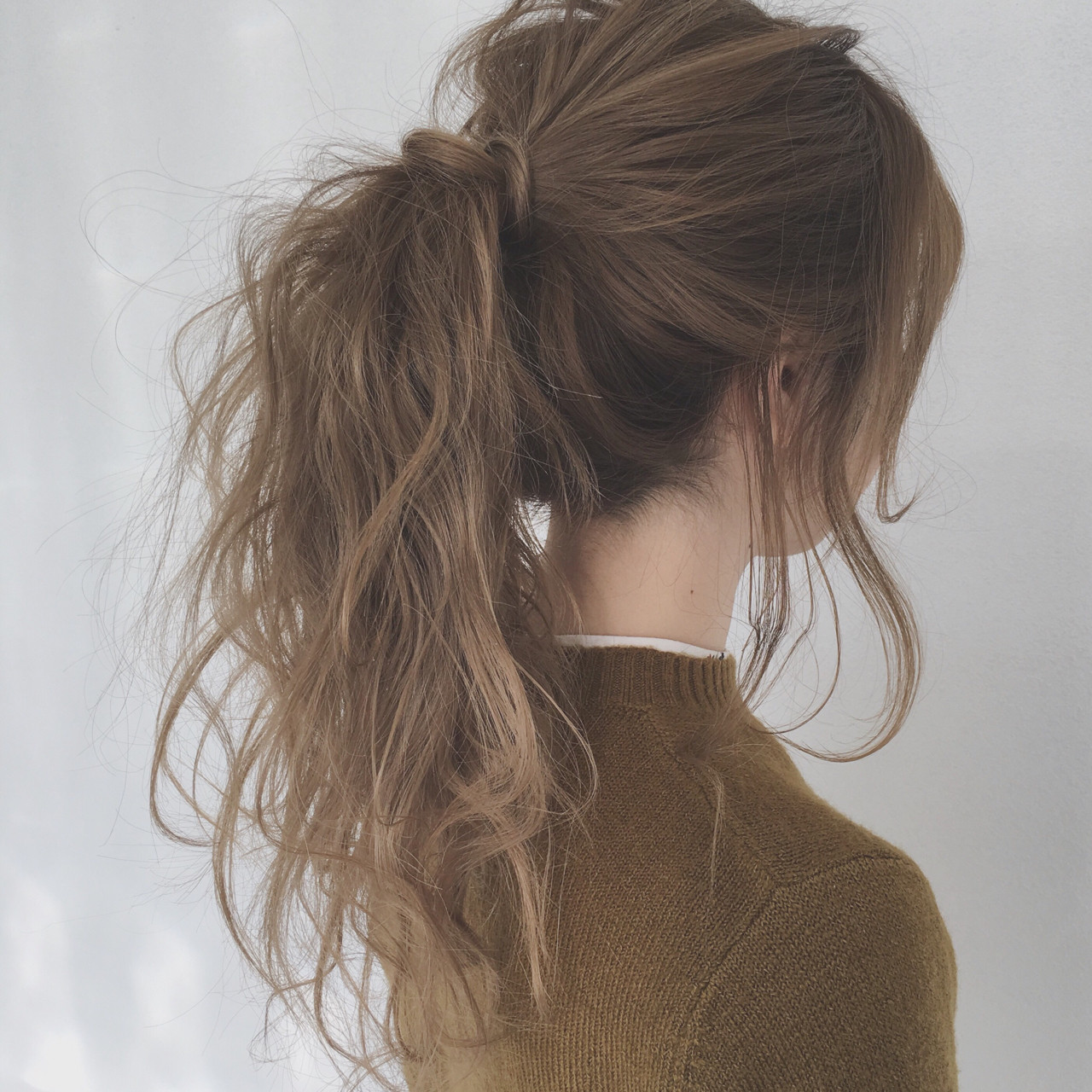 ショート ロング ヘアアレンジ ポニーテール ヘアスタイルや髪型の写真・画像 | 阿部 将明 / theBRIDGE