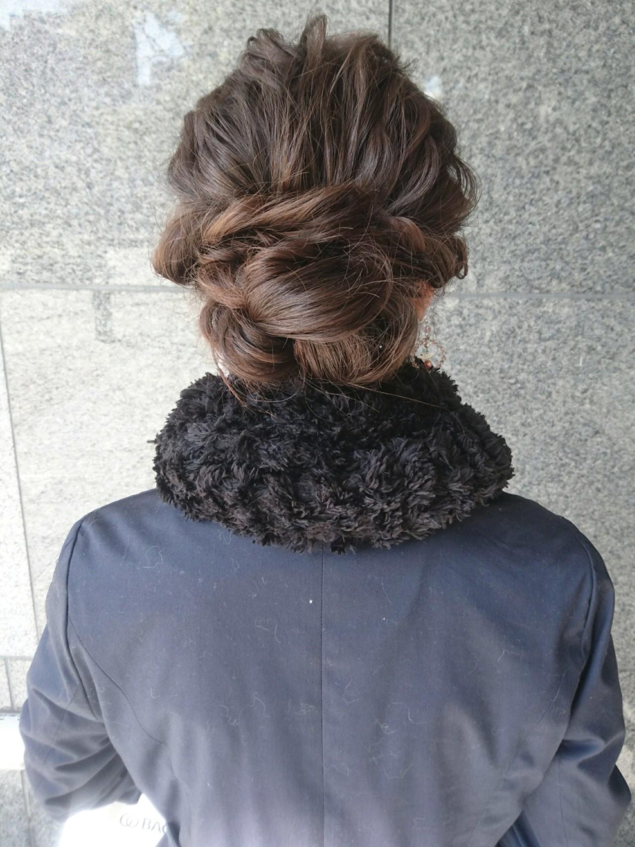 ミディアム ゆるふわ ショート ナチュラル ヘアスタイルや髪型の写真・画像 | 島田 和也 / hair&spa feliceMICHI