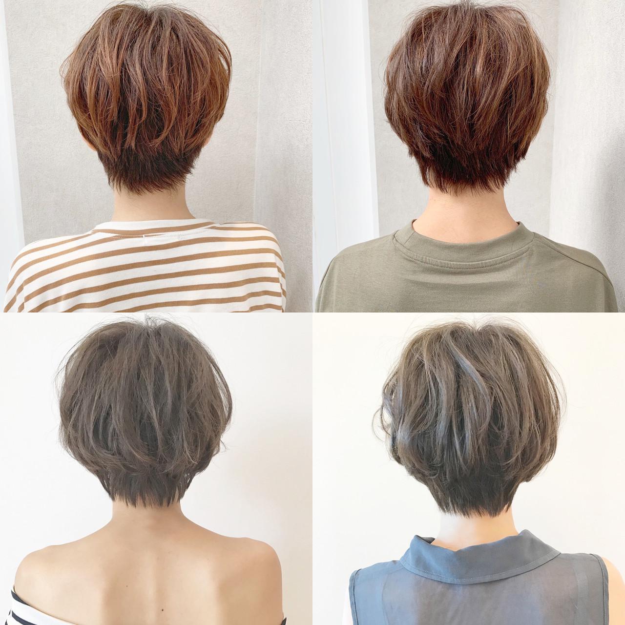 アウトドア パーマ ショート スポーツ ヘアスタイルや髪型の写真・画像 | ショートヘア美容師 #ナカイヒロキ / 『send by HAIR』