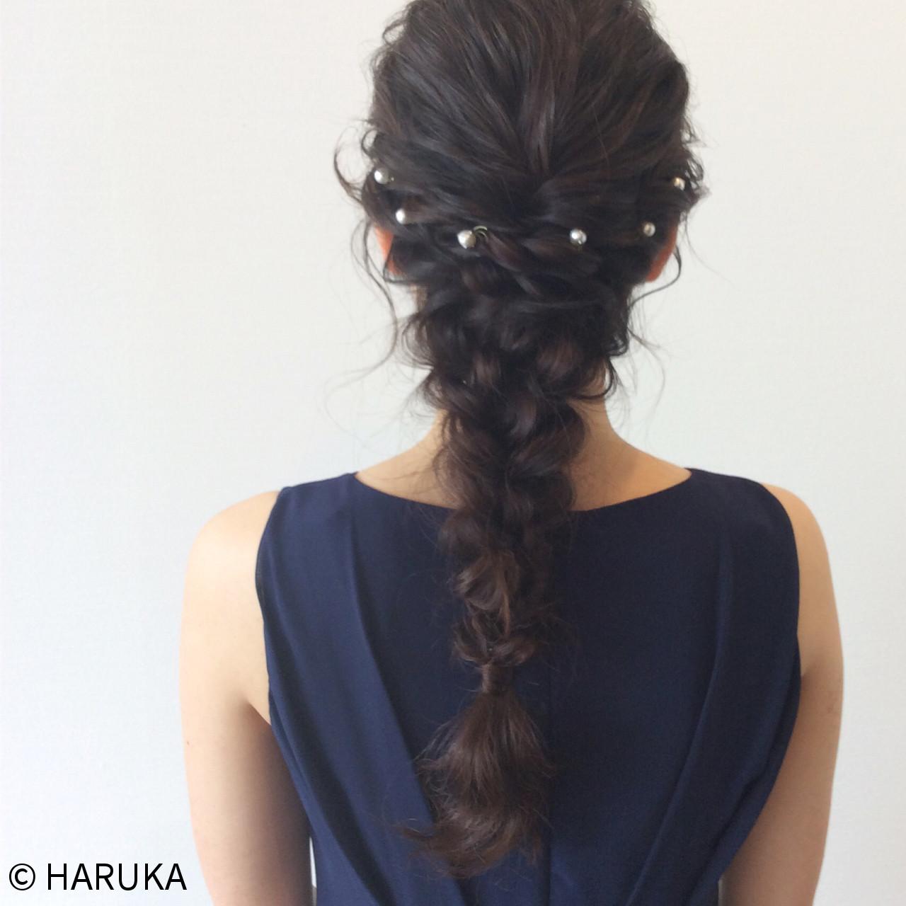 ヘアアレンジ ロング ショート 結婚式 ヘアスタイルや髪型の写真・画像