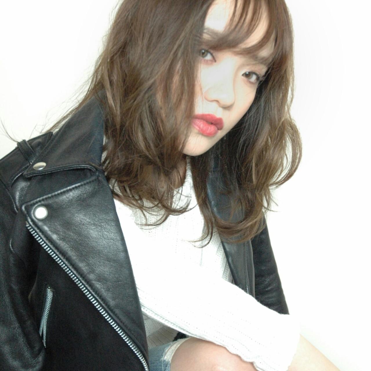 大人かわいい ストリート アッシュ 色気 ヘアスタイルや髪型の写真・画像
