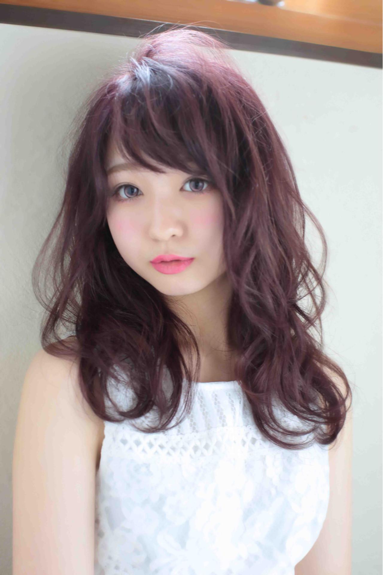 ゆるふわ モテ髪 大人かわいい フェミニン ヘアスタイルや髪型の写真・画像