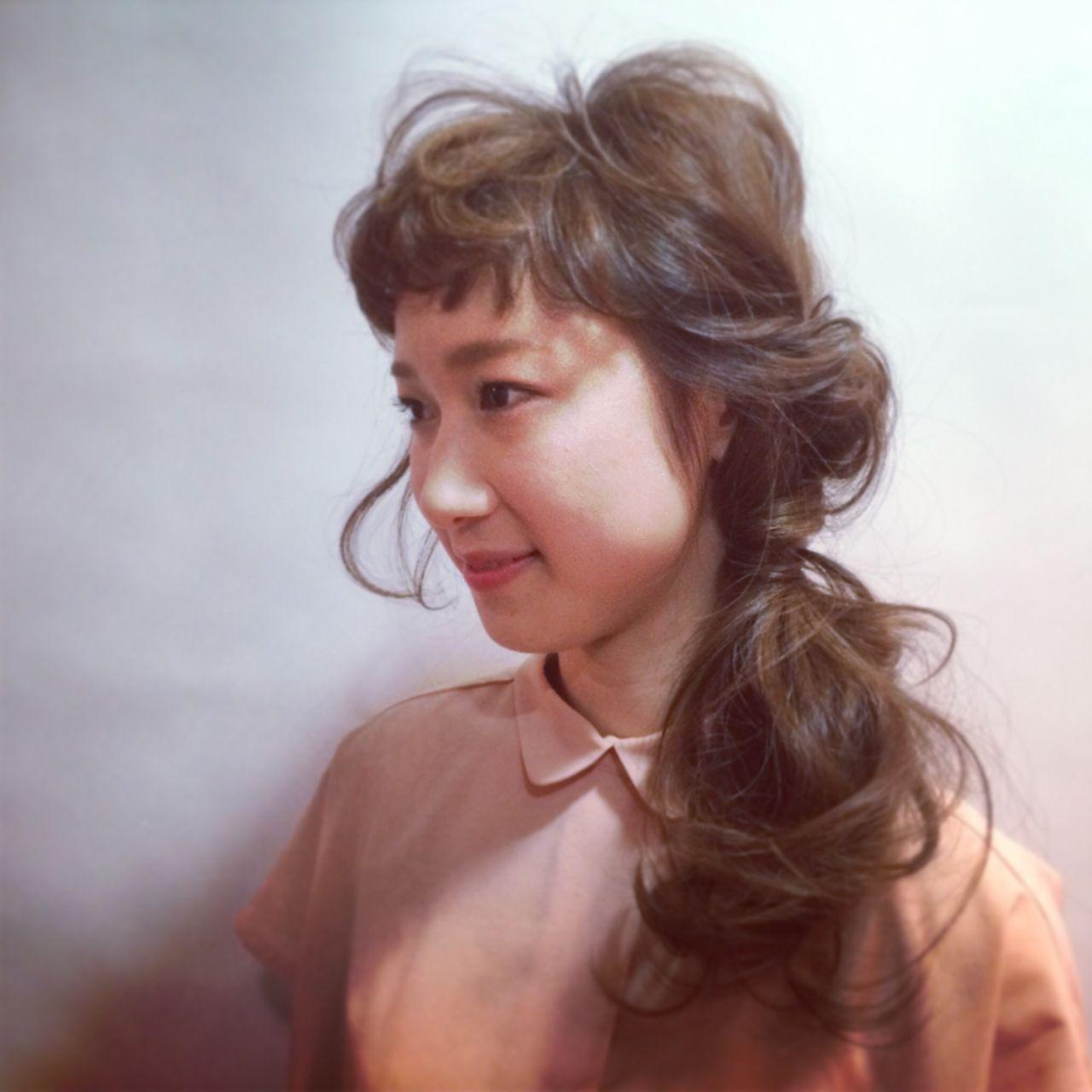 愛され モテ髪 ナチュラル ラフ ヘアスタイルや髪型の写真・画像