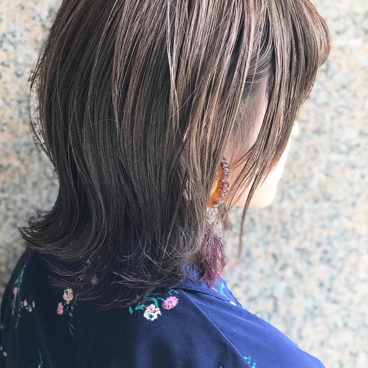 ヌーディーベージュ 縮毛矯正ストカール 小顔 大人かわいい ヘアスタイルや髪型の写真・画像