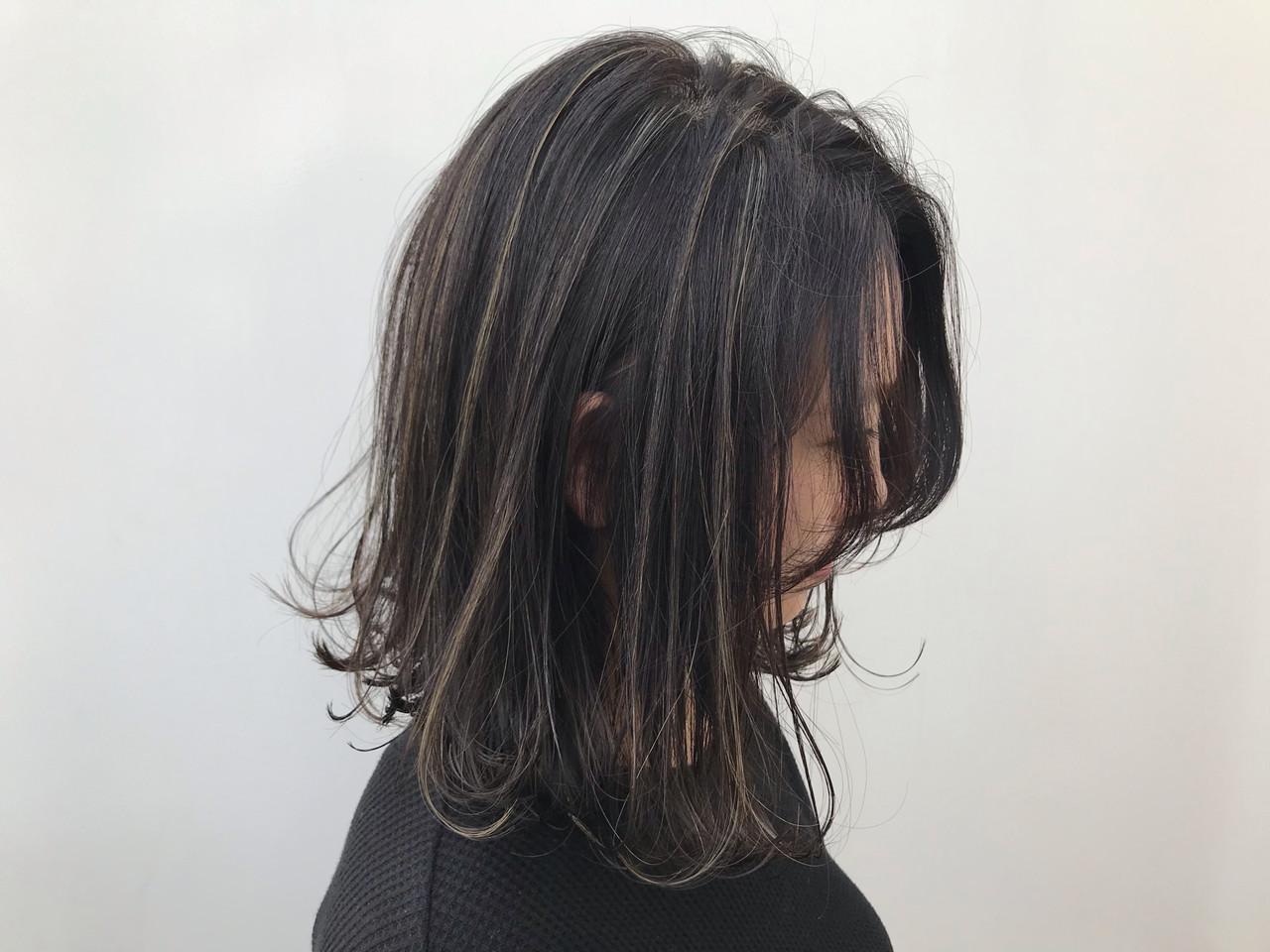 ボブ 外ハネ コンサバ ナチュラル ヘアスタイルや髪型の写真・画像   HIROKI / roijir / roijir