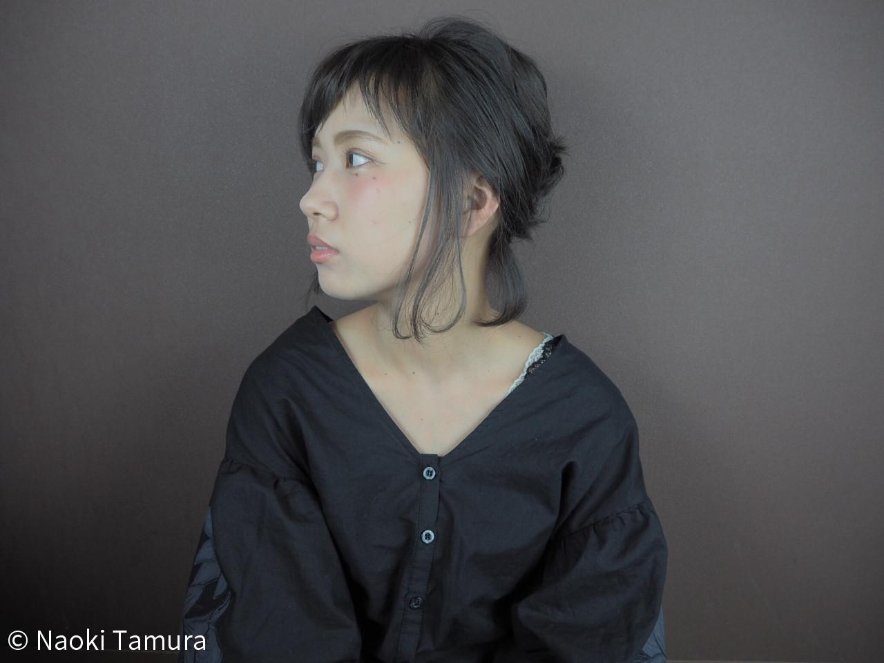 リラックス 女子会 ヘアアレンジ 夏 ヘアスタイルや髪型の写真・画像 | Naoki Tamura / 、