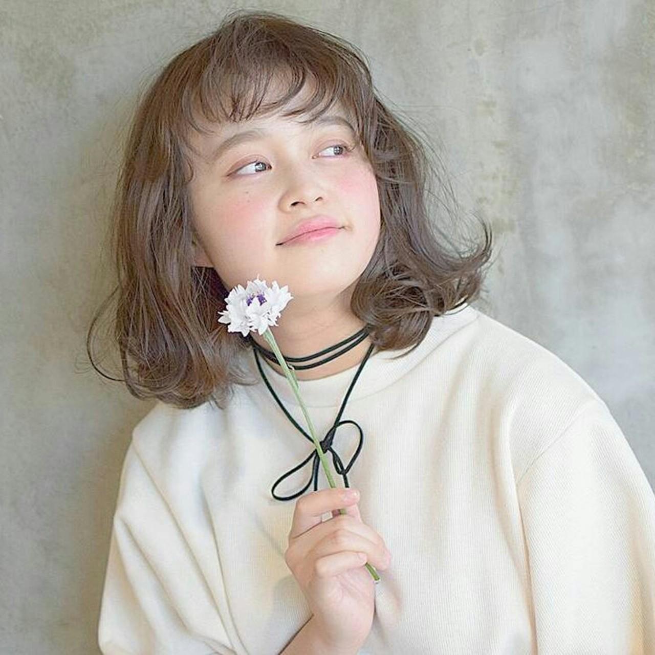 くせ毛風 外国人風 透明感 ゆるふわ ヘアスタイルや髪型の写真・画像 | 鈴木晶子 / arc ginza
