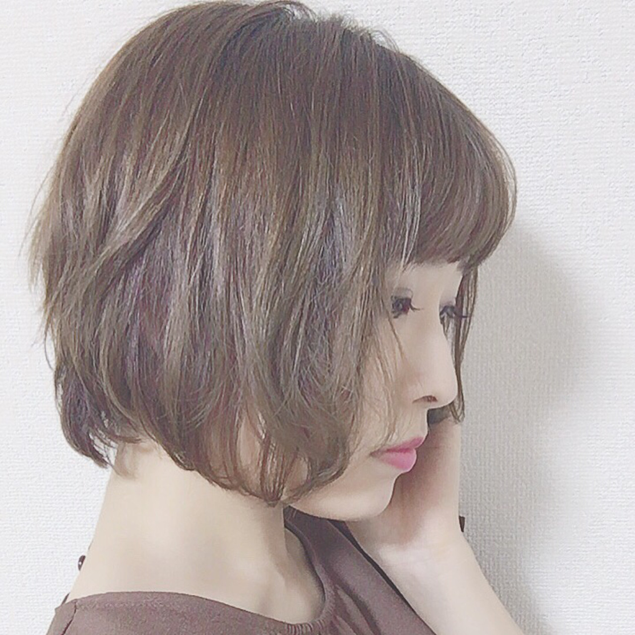 こなれ感 涼しげ 色気 ボブ ヘアスタイルや髪型の写真・画像
