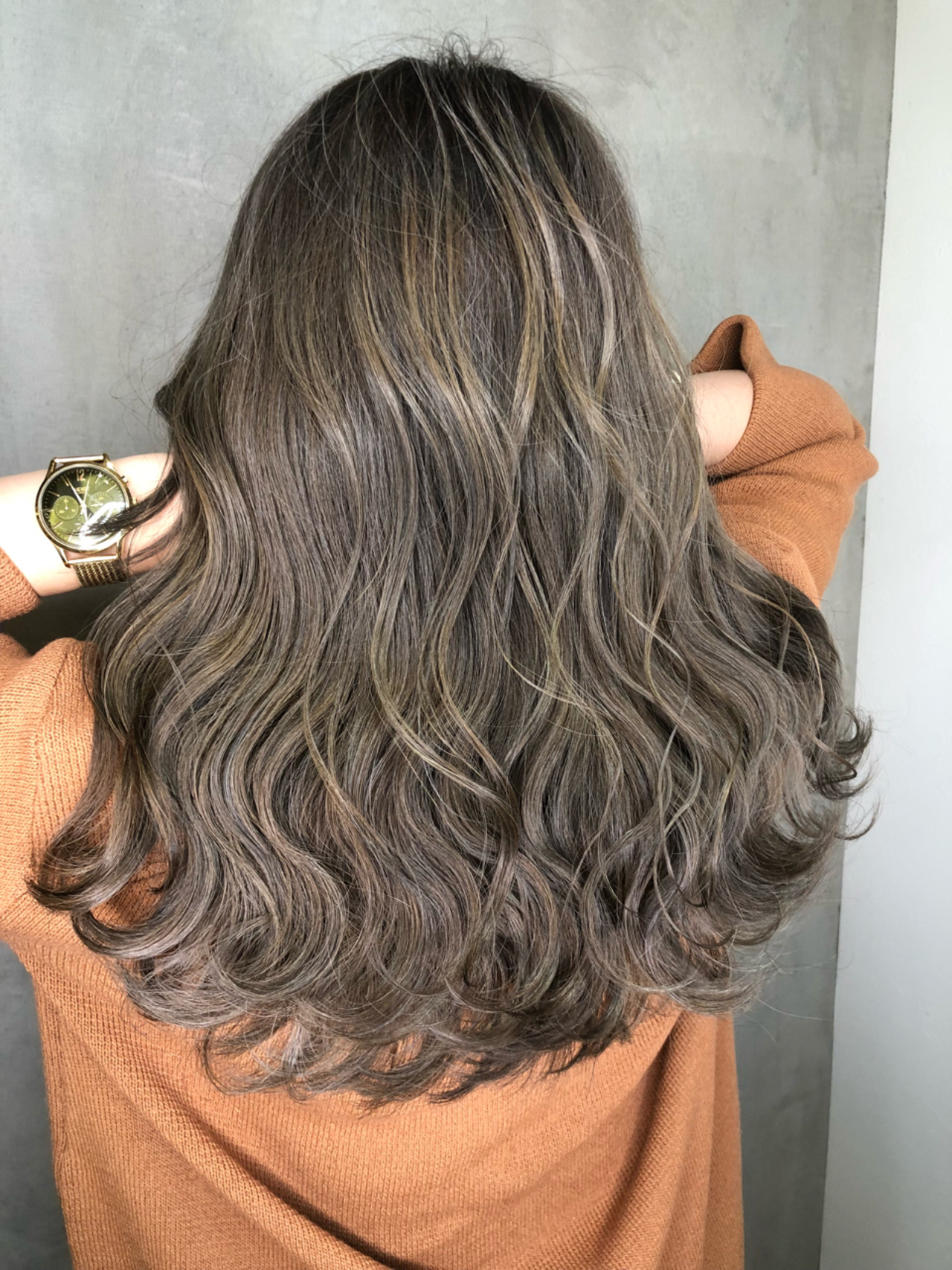 ナチュラル ヘアアレンジ ロング アウトドア ヘアスタイルや髪型の写真・画像 | 筒井 隆由 / Hair salon mode