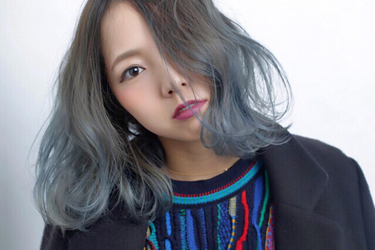 外国人風 アッシュ 渋谷系 ストリート ヘアスタイルや髪型の写真・画像   藤山将太 / ROSTAR