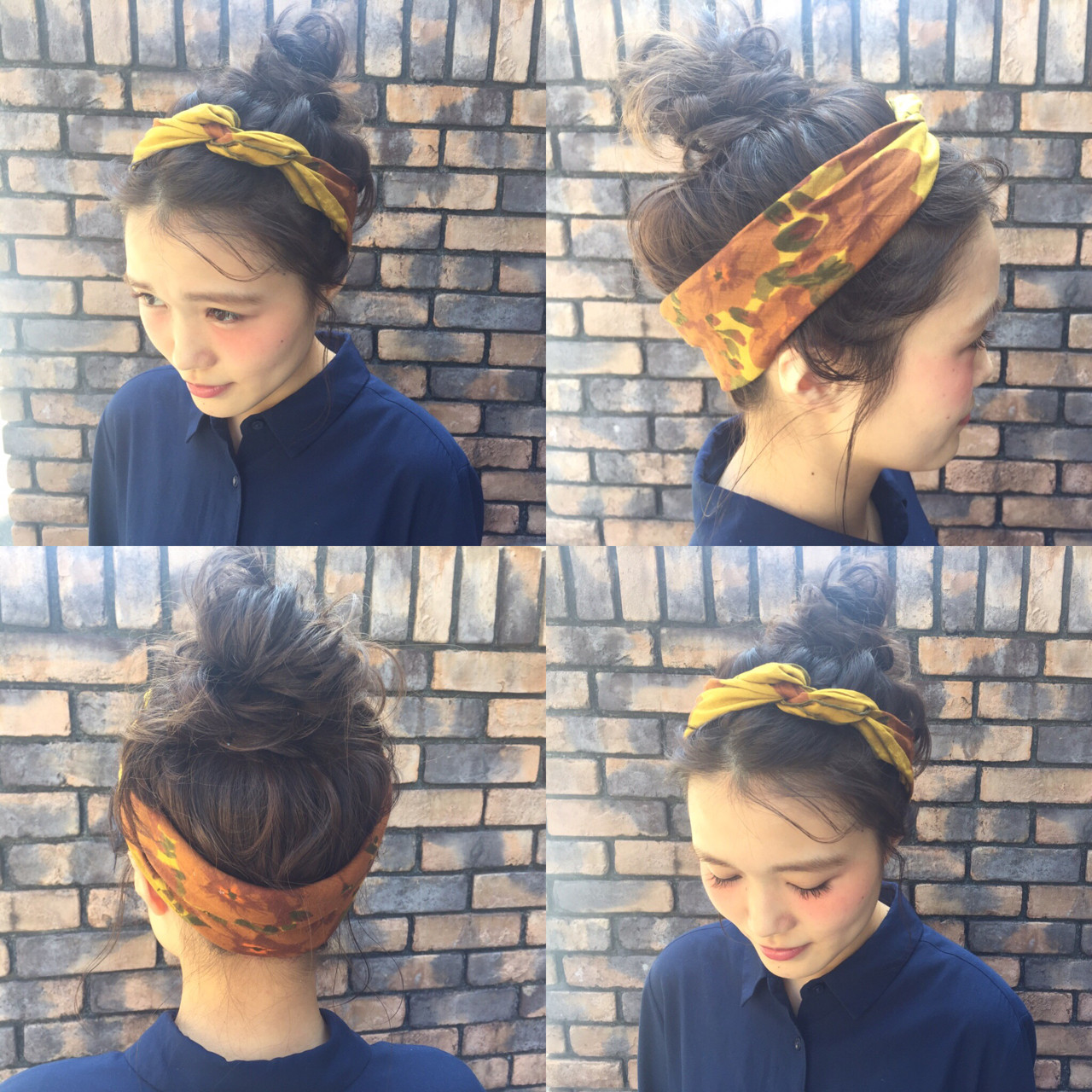ヘアアレンジ ピュア アッシュ ナチュラル ヘアスタイルや髪型の写真・画像 | 坂本圭太朗 / bado