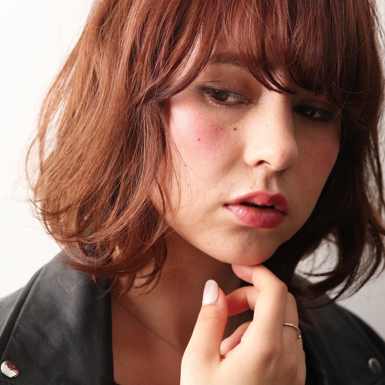 ニュアンス ナチュラル 色気 ミルクティー ヘアスタイルや髪型の写真・画像