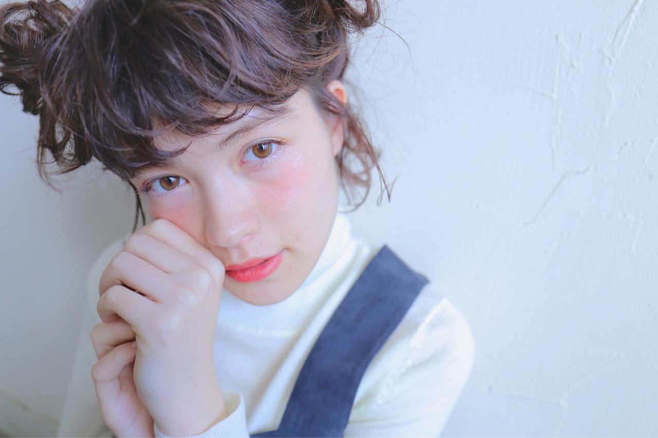 外国人風 ショート 簡単ヘアアレンジ 大人かわいい ヘアスタイルや髪型の写真・画像 | 米澤 香央里 / SYAN