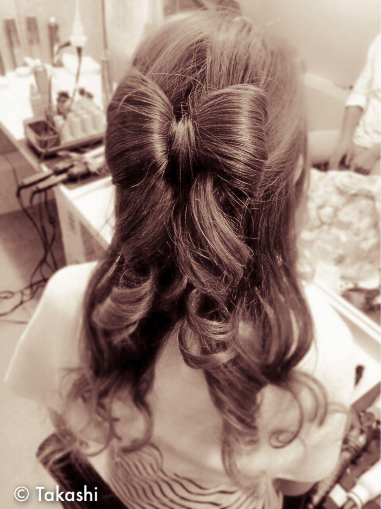 フェミニン コンサバ ヘアアレンジ 愛され ヘアスタイルや髪型の写真・画像