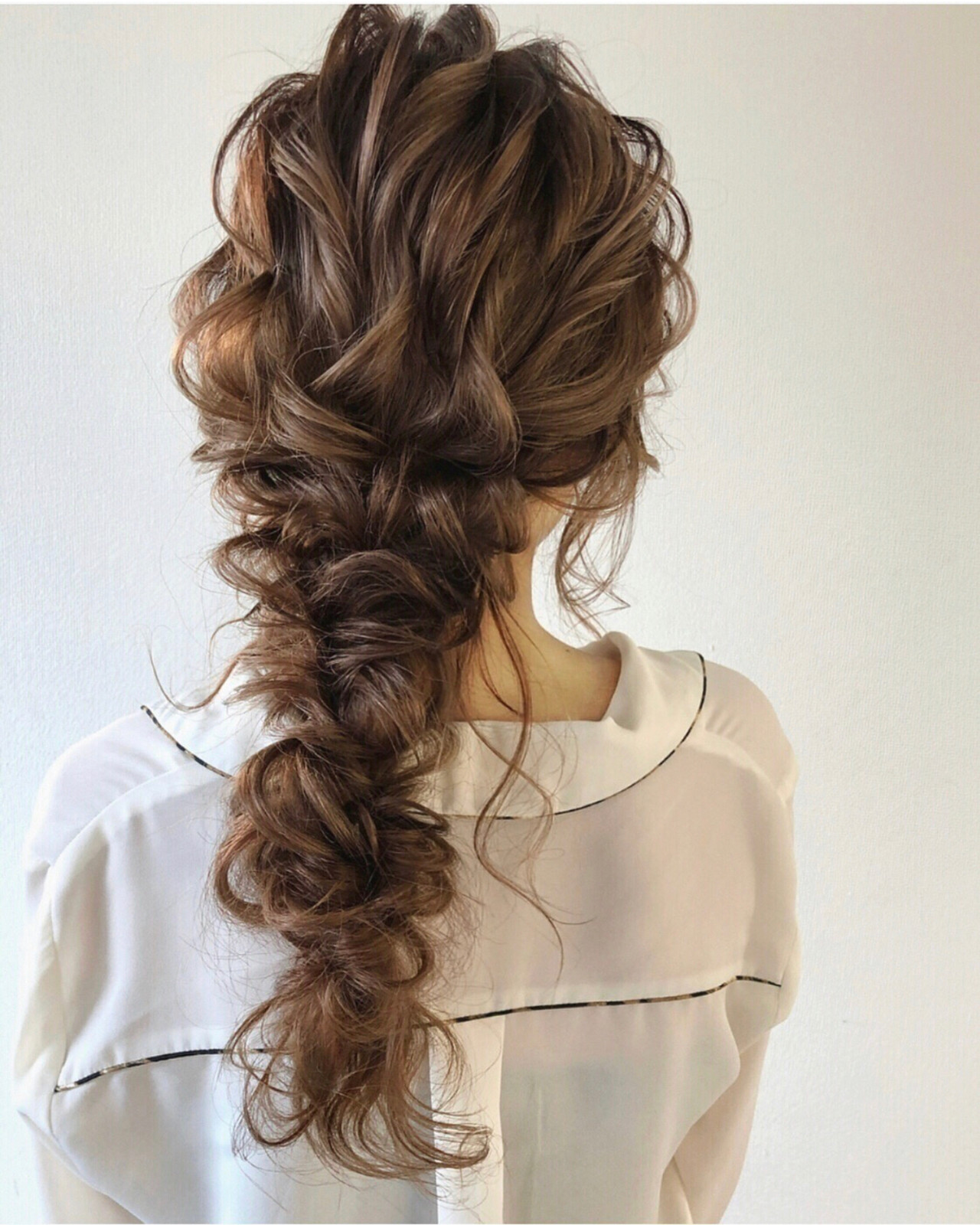 アンニュイほつれヘア ゆるナチュラル 大人かわいい ロング ヘアスタイルや髪型の写真・画像